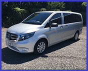 buckleys private hire 8 seater minibus new 2018